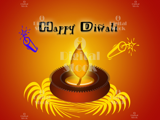 Happy diwali greetings illustration with a lighted diya happy diwali greetings illustration with a lighted diya idigitalstock royalty free stock images and videos m4hsunfo